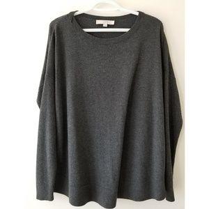 Loft grey sweater L